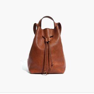 Madewell Somerset Mini-Backpack in English Saddle